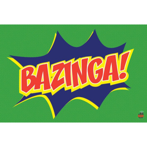 Poster - Big Bang Theory (Bazinga Icon)