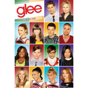 Poster - Glee characters