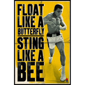 Poster - Muhammad Ali (Float like a Butterfly)