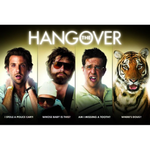 Poster - The Hangover
