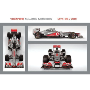 Poster – Vodafone McLaren Mercedes MP4-26 (1)