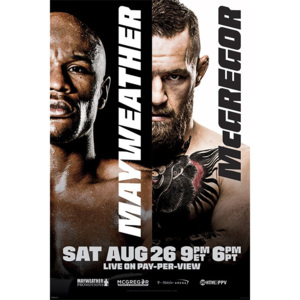 Poster - Mayweather vs. McGregor