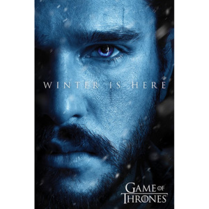 Poster - Game of Thrones (Winter is Here - Jon)