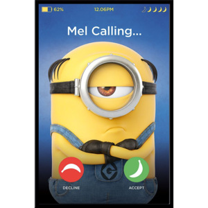 Poster - Despicable Me 3 (Mel Calling)