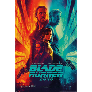 Poster - Blade Runner 2049 (Fire nad Ice)