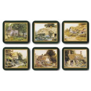 Set 6 coastere Country Cottages