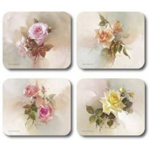 Fragrant Blooms Placemats Set 4 piese
