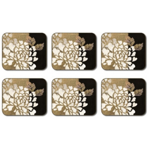 Glamour of Gold Coasters Set 6 piese