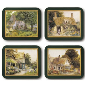 Country Cottages Placemats Set 4 piese