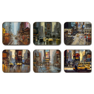 New York Placemats Set 6 piese