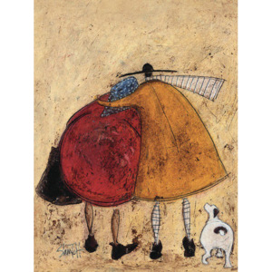 Tablou canvas - Sam Toft, Hugs on the Way Home