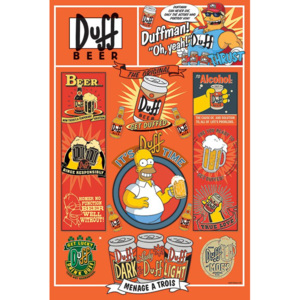 Poster - The Simpsons (Duff)
