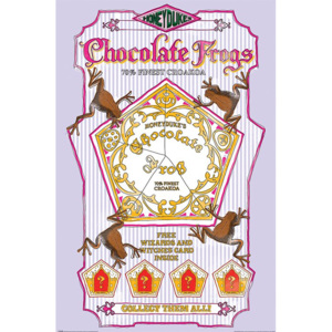 Poster - Harry Potter (Chocolate Frogs)