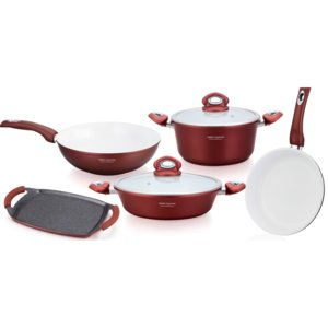 Set oale ceramica 9 Piese , Imperial Collection, IM-1009CR IM-1009CR
