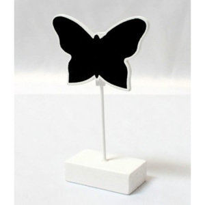 Butterfly Placecard Holder creta Board alb