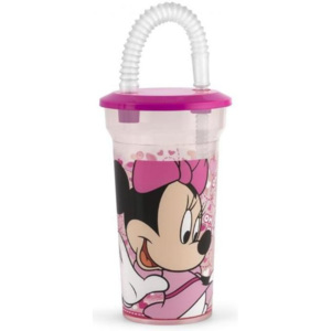 Pahar cu pai Minnie 400ml Lulabi 8323500
