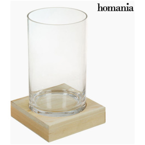 Vază Sticlă Lemn - Pure Crystal Deco Colectare by Homania