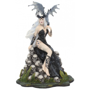 Statueta zana gotica si dragon Mad Queen 25.5 cm Nene Thomas