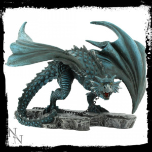 Statueta dragon inlantuit Nyx