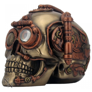 Statueta craniu steampunk Steam Powered Observation Skull