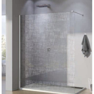 PROMO Cabina dus Walk-in SanSwiss Pur Lines PDT4P 100 x H200 cm