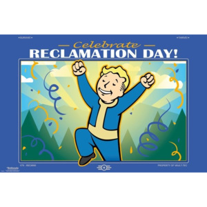 Fallout 76 - Reclamation Day Poster, (91,5 x 61 cm)