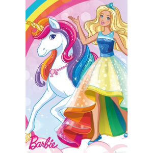Barbie - Unicorn Poster, (61 x 91,5 cm)