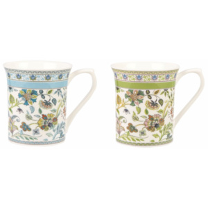 Set 2 căni Churchill China Classic Queens Antique, 220 ml