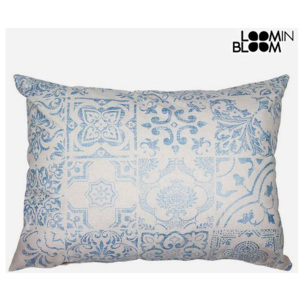 Pernă Albastru (50 x 70 cm) - Queen Deco Colectare by Loom In Bloom