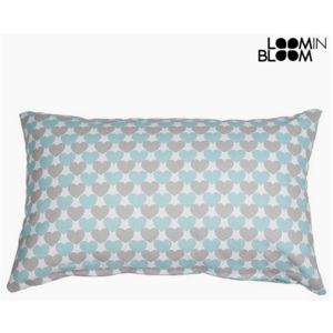 Pernă Gri Turquoise (30 x 10 x 50 cm) - Little Gala Colectare by Loom In Bloom