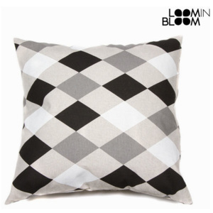 Pernă Gri Negru (60 x 12 x 60 cm) - Sweet Dreams Colectare by Loom In Bloom