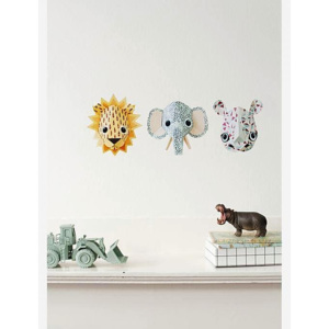 Sticker decorativ Elephant spots 14 x 12 cm