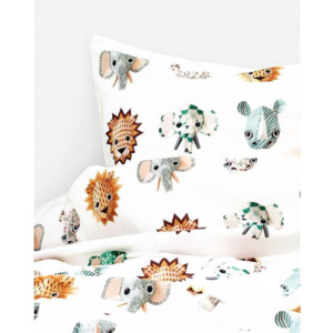 Set lenjerie de pat Wild Animals, bumbac 100%