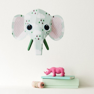 Sticker decorativ Elephant clouds 27 x 24 cm