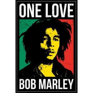 Bob Marley - One Love Poster, (61 x 91,5 cm)