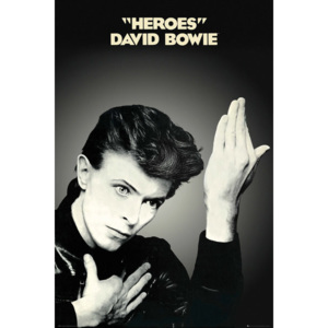 David Bowie - Heroes Poster, (61 x 91,5 cm)
