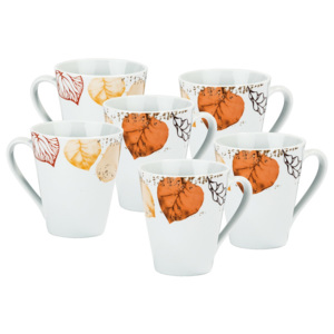 Set de 6 căni Autumn, 290 ml