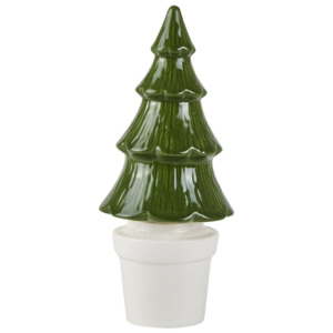 Decorațiune de Crăciun KJ Collection Tree, 22 cm, verde