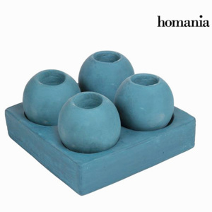 Candelabra with Stand (5 pcs) Albastru - Enchanted Forest Colectare by Homania