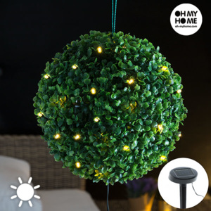 Lampă Solară Arbust Oh My Home (20 LED-uri)