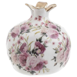 Decoratiune din ceramica Pomegranate Fleurs