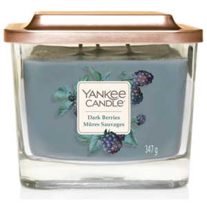 Yankee Candle lumânare parfumată Elevation Dark Berries hexagon medie 3 fitile