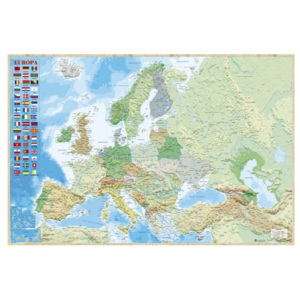 Map of Europe - Political Poster, (91,5 x 61 cm)
