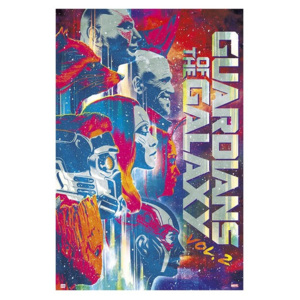Guardians Of The Galaxy Vol 2 Poster, (61 x 91,5 cm)