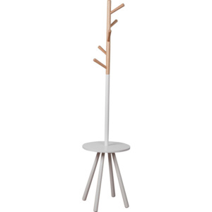 Cuier lemn Table Tree alb/natur Zuiver
