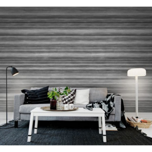 Tapet Ribbon Black & White Rebel Walls