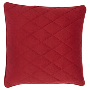 Perna decorativa rosie 50x50 cm Diamond Square Zuiver