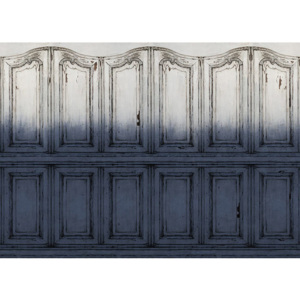 Tapet Parisian Panels Dip Dye Blue Rebel Walls