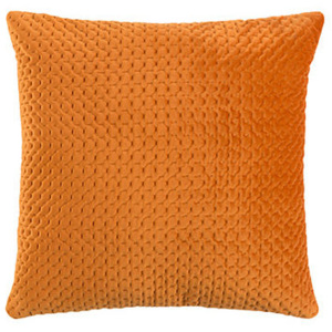 Perna portocalie catifea 45x45 cm Sterre Orange White Label