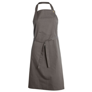 Sort din bumbac gri Apron House Doctor